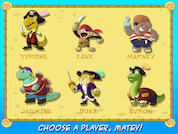 6 Dinosaur Pirates to choose from, and more to discover!